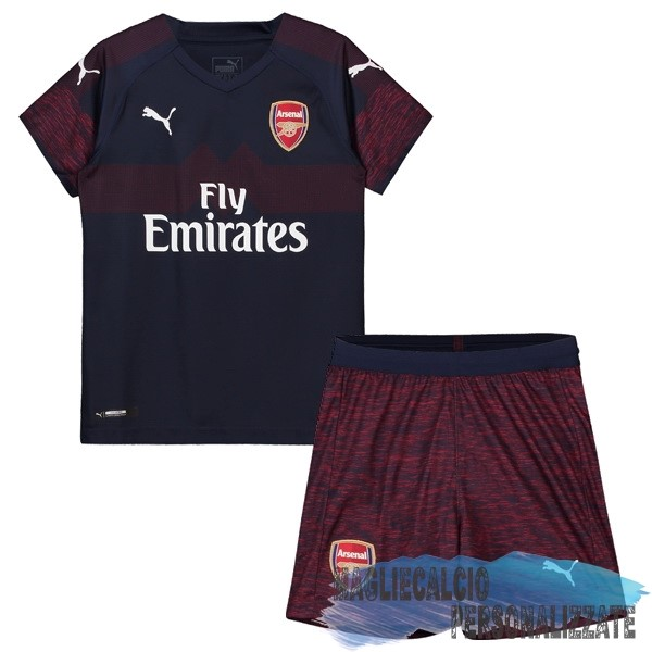 Maglie Calcio Store PUMA Away Set Completo Bambino Arsenal 18-19 Navy
