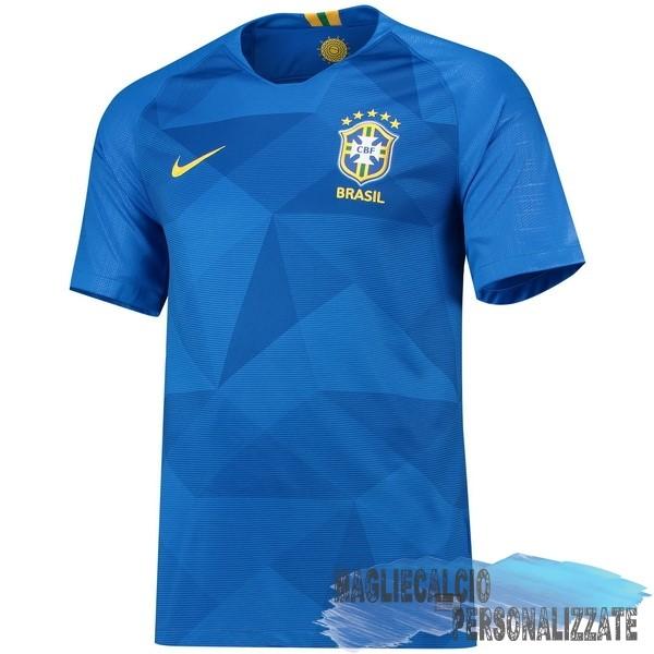 4edf4857b Maglie Calcio Store Nike Away Maglia Brasile 2018 Blu