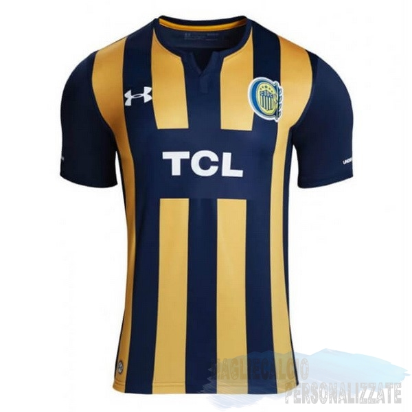 Maglie Calcio Store Under Armour Home Maglia CA Rosario Central 2019 2020 Blu Giallo