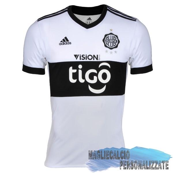 60b38eae4 Maglie Calcio Store adidas Home Maglia Club Olimpia 17-18 Bianco