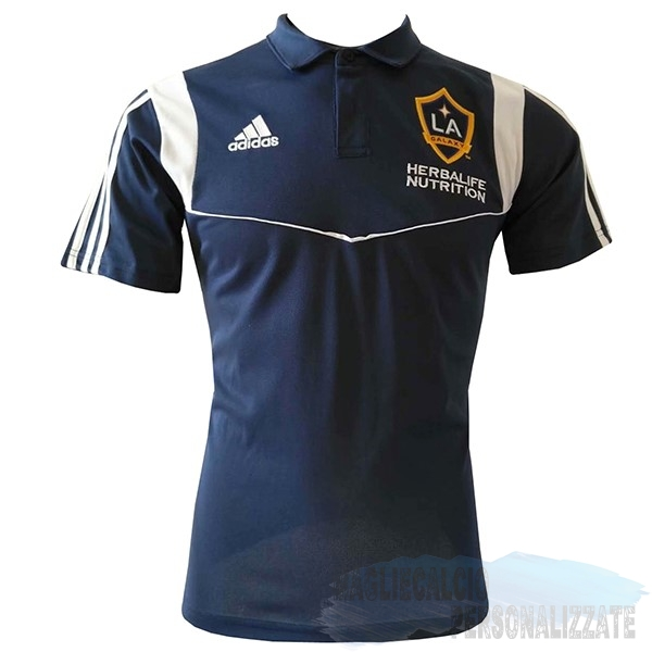 Maglie Calcio Store Adidas Polo Los Angeles Galaxy 2019 2020 Blu Navy