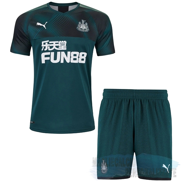 Maglie Calcio Store Puma Away Set Completo Bambino Newcastle United 2019 2020 Verde