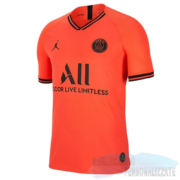 Maglie Calcio Store Jordan Thailandia Away Paris Saint Germain 2019 2020 Arancione