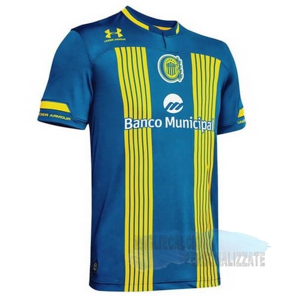 Maglie Calcio Store Under Armour Home Maglia CA Rosario Central 2020 2021 Blu Giallo