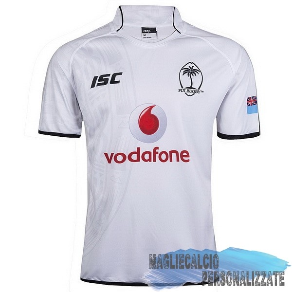 Maglie Calcio Store ISC Home Rugby Maglia Fiyi 2017-18 Bianco