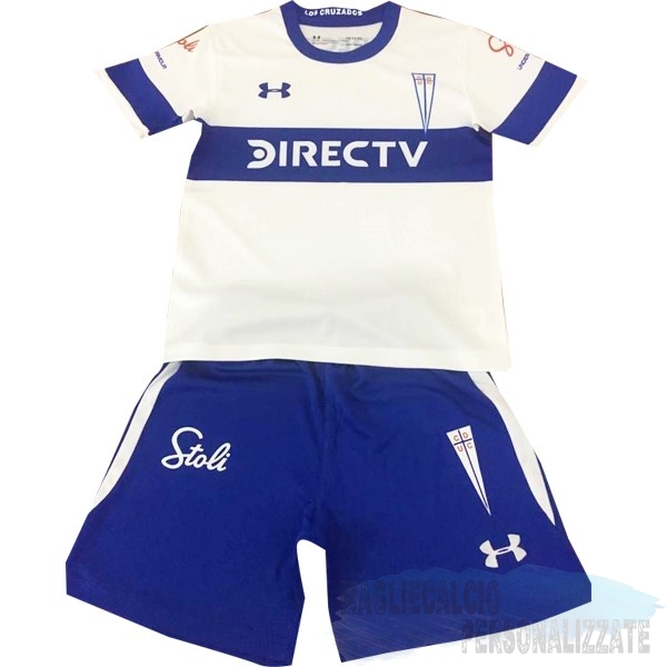 Maglie Calcio Store Under Armour Home Set Completo Bambino Universidad Católica 2019 2020 Bianco