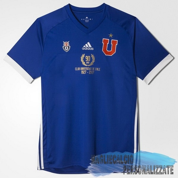 Maglie Calcio Store adidas Home 90th Maglia Universidad De Chile 1927 2017 Blu
