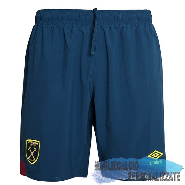Maglie Calcio Store umbro Away Pantaloncini West Ham United 18-19 Blu