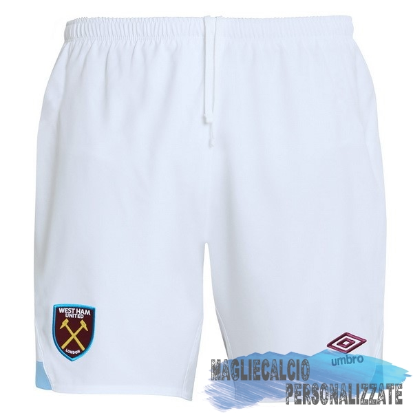 Maglie Calcio Store umbro Home Pantaloncini West Ham United 18-19 Bianco