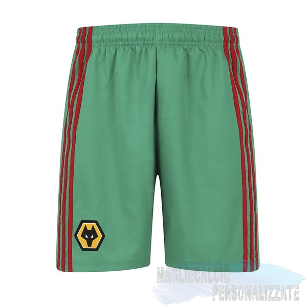 Maglie Calcio Store adidas Terza Pantaloni Wolves 2019 2020 Verde
